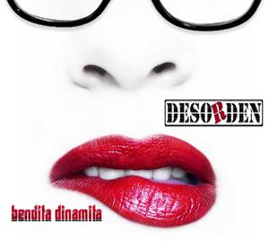 """Boceto de la portada del nuevo disco de Desorden """"Bendita Dinamita"""""""